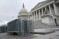 Barricades sit in front of the United States Capitol in Washington D.C., U.S., on Wednesday, June 10, 2020.  Credit: Stefani Reynolds / CNP/AdMedia
