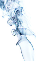 Smoke art, made from photographing smoke from burning incense.