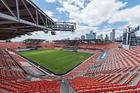 Houston, TX - Sunday April 28, 2019: 2019 NWSL regular season match between the Houston Dash and the the NC Courage at BBVA Compass Stadium.