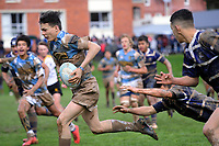 Action from the Wellington under-15 college rugby final between St Pat's College Silverstream and St Pat's Town at Silverstream College in Upper Hutt, New Zealand on Saturday, 18 August 2018. Photo: Dave Lintott / lintottphoto.co.nz