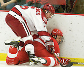 Alex Fallstrom (Harvard - 16), Sean Whitney (Cornell - 19) - The visiting Cornell University Big Red defeated the Harvard University Crimson 2-1 on Saturday, January 29, 2011, at Bright Hockey Center in Cambridge, Massachusetts.
