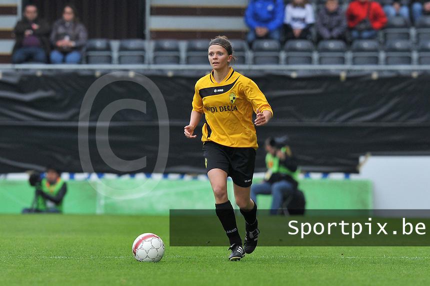 Bekerfinale 2012 : WD Lierse SK - Standard Femina :.Lien Haverals.foto David Catry / Joke Vuylsteke / Vrouwenteam.be