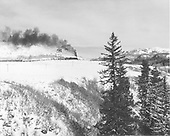 D&amp;RGW freight train, location uncertain.<br /> D&amp;RGW