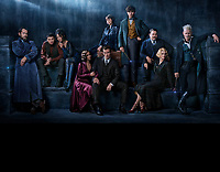 Fantastic Beasts: The Crimes of Grindelwald (2018) <br /> Jude Law, Ezra Miller, Claudia Kim, Zo&euml; Kravitz, Callum Turner, Katherine Waterston, Eddie Redmayne, Dan Fogler, Alison Sudol &amp; Johnny Depp<br /> *Filmstill - Editorial Use Only*<br /> CAP/KFS<br /> Image supplied by Capital Pictures
