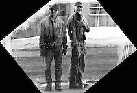 In 1984, my second year at the University of Minnesota, I took my first photography class. Here I'm with Brett Menard, one of my roommates.