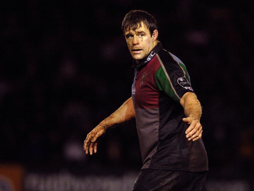Photo: Richard Lane..NEC Harlequins v Bath Rugby. Guinness Premiership. 06/01/2007. .Quins' captain, Paul Volley.