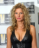 Summer Zervos, who accused United States President Donald Trump of groping her in 2007, and who is suing the President for defamation after he claims they never met at his hotel arrives for the Creative Coalition Inaugural Ball for the Arts at the Harman Center for the Arts in Washington, DC on Friday, January 20, 2017.<br />