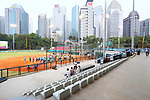 General view, <br /> AUGUST 24, 2018 - Softball : <br /> Women's Final match <br /> between Japan - Chinese Taipei <br /> at Gelora Bung Karno Softball field <br /> during the 2018 Jakarta Palembang Asian Games <br /> in Jakarta, Indonesia. <br /> (Photo by Naoki Nishimura/AFLO SPORT)