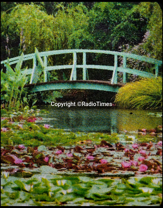 BNPS.co.uk (01202 558833)<br /> Pic: LauraDale/BNPS<br /> <br /> Show me the Monet...The Radio Times picture of Bennetts water garden.<br /> <br /> The Radio Times is advertising a 'Art and history of Europe' tour to visit Claude Monet's famous water lily gardens...but unfortunatley have illustrated it with a picture of the less prosaic Bennett's Water gardens in Dorset.<br /> <br /> The TV magazine's 'Art and history' trip is illustrated with photograph of the world famous gardens at Giverny - but unfortunatley the picture actually shows the less historic Bennett's Water Gardens in Weymouth.<br /> <br /> Prospective customers may object to the Radio Times &pound;700 cost when they realise the Bennett family will welcome them in for only &pound;8.75.