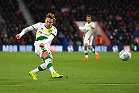 Felix Passlack of Norwich City has a shot on goal during AFC Bournemouth vs Norwich City, Caraboa Cup Football at the Vitality Stadium on 30th October 2018