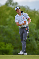 Jordan Spieth (USA) watches his tee shot on 4 during round 3 of the AT&T Byron Nelson, Trinity Forest Golf Club, Dallas, Texas, USA. 5/11/2019.<br /> Picture: Golffile | Ken Murray<br /> <br /> <br /> All photo usage must carry mandatory copyright credit (© Golffile | Ken Murray)