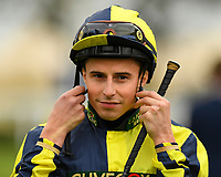 Jockey William Buick during Racing at Newbury Racecourse on 12th April 2019