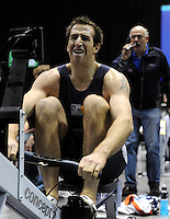 Birmingham, Great Britain, Men's Open Gold Medallist,  Graham BENTON Mad Team/David Lloyd, Reading, competing at the 2008 British Indoor Rowing Championships, National Indoor Arena. on  Sunday 26.10.2008 .   [Photo, Peter Spurrier/Intersport-images] ..