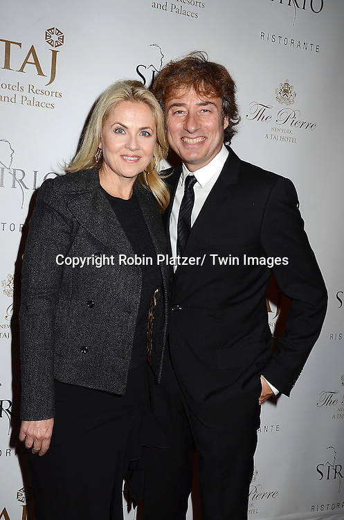 Cornelia Guest and Marco Maccioni attends the Sirio Ristorante New York opening in the Pierre Hotel, a TAJ Hotel on October 24, 2012 in New York City. Sirio Maccioni hosted the party