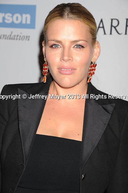 CULVER CITY, CA- NOVEMBER 09: Actress Busy Philipps arrives at the 2nd Annual Baby2Baby Gala at The Book Bindery on November 9, 2013 in Culver City, California.