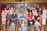 Gearoid Cronin Ardaneanig Killarney seated centre who celebrated his 40th birthday with his family and friends in the Killarney Avenue Hotel on Saturday night