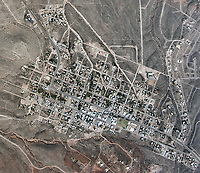 historical aerial photograph of Tombstone, Arizona, 1978