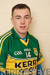 Jason Hickson member of the Kerry U-21 panel 2012