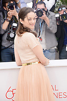 "Marion Cotillard attending the ""De Rouille Et D'os"" Photocall during the 65th annual International Cannes Film Festival in Cannes, 17th May 2012...Credit: Timm/face to face /MediaPunch Inc. ***FOR USA ONLY***"