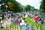 Large crowd at  the Open Air Screening of Tom Hanks's film  'Big' in Pearse Park on Friday