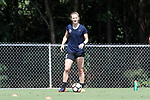 CARY, NC - JUNE 01: Samantha Mewis. The North Carolina Courage held a training session on June 1, 2017, at WakeMed Soccer Park Field 7 in Cary, NC.