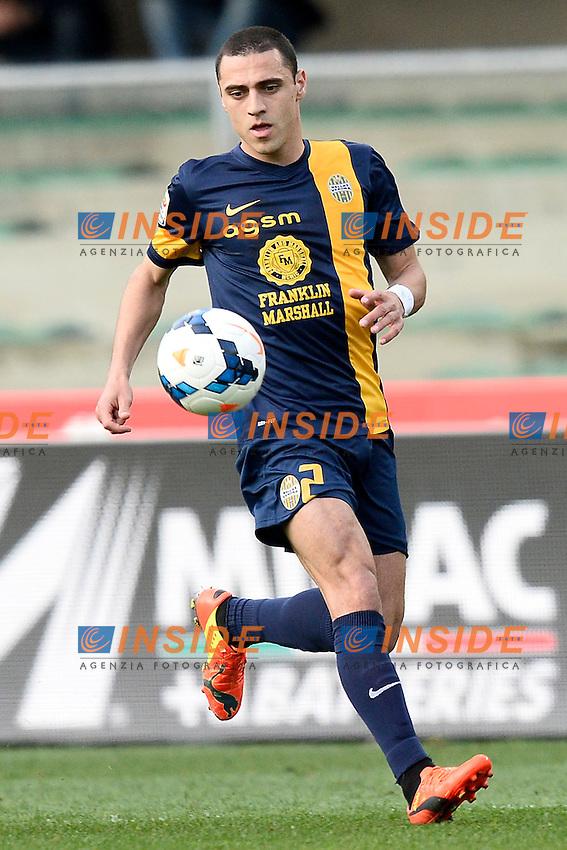 Romulo Souza Hellas <br /> Verona 05-04-2014 Stadio Bentegodi - Football Calcio 2013/2014 Serie A, Chievo - Hellas Verona  <br /> foto Daniele Buffa/Image Sport/Insidefoto