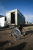 The camp-site are so flat that using wheelchair was fairly easy. Photo: Jonas Elmqvist