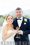 Rachel Barrett, Glenard, Tralee, daughter of Tom, and Ruariri Kelly, Catleview Fenit, son of Mary and the late Tommy (Tucker), who were married in Churchhill on friday, Fr Mulvihill officiated at the ceremony, best manw as Rory Horgan, groomsmen were Michelle O'Sullivan, Brenda Leahy and Sarah Clifford, flowergirls were Cara kelly, and hayley Callaghan, pageboys were Jayden Ward-Barrett, the reception was held in the Killarney Oaks Hotel