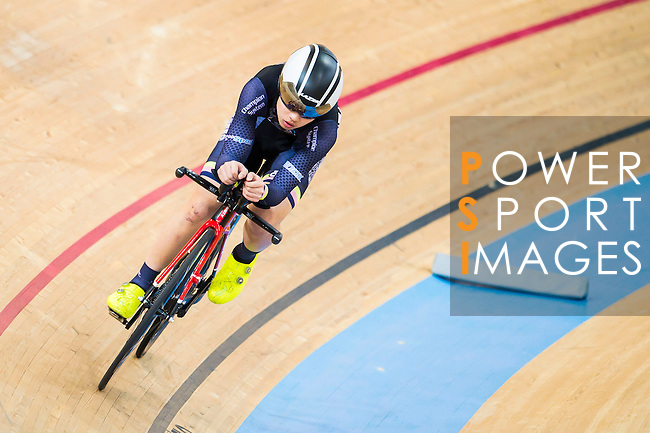 Cyril Cheng of X SPEED in action at the Hong Kong Track Cycling Race 2017 Series 5 on 18 February 2017 at the Hong Kong Velodrome in Hong Kong, China. Photo by Marcio Rodrigo Machado / Power Sport Images