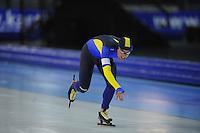 SCHAATSEN: GRONINGEN: Sportcentrum Kardinge, 02-02-2013, Seizoen 2012-2013, Gruno Bokaal, Arjen van der Kieft, ©foto Martin de Jong