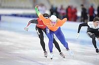 SPEEDSKATING: SOCHI: Adler Arena, 19-03-2013, Training, Koen Verweij (NED), © Martin de Jong