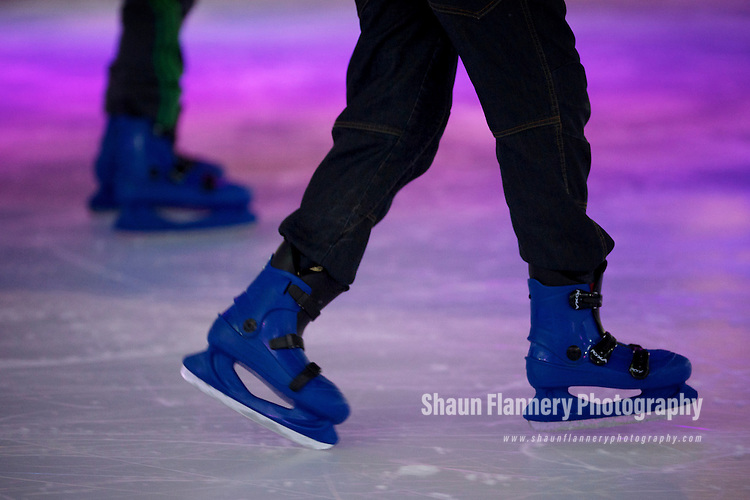 Pix: Shaun Flannery/shaunflanneryphotography.com..COPYRIGHT PICTURE>>SHAUN FLANNERY>01302-570814>>07778315553>>..13th April 2011.............Doncaster Dome..The Ice Caps, the UK's only split-level ice rink..