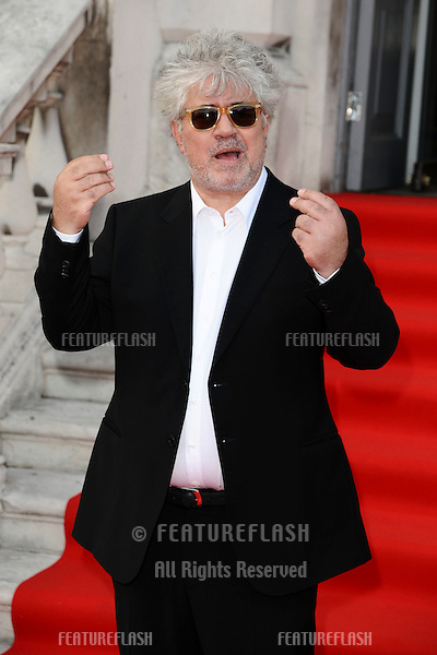 """Pedro Almodovar arrives for the premiere of """"The Skin I Live In"""" which opens the Film4 Summer Screen season at Somerset House, London. 27/07/2011  Picture by: Steve Vas / Featureflash"""