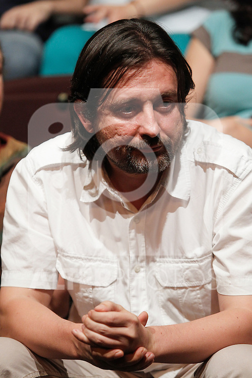 `Podemos´ memberRafael Mayoral during the political party team presentation for the Spanish General Elections in Madrid, Spain. July 16, 2015. (ALTERPHOTOS/Victor Blanco)