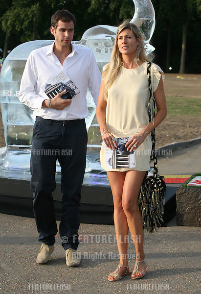 Tania Strecker attending The Elephant Parade auction in aid of The Elephant Family at Royal Hospital Chelsea. 30/06/2010  Picture by: Alexandra Glen / Featureflash