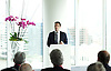 Andy Burnham speech<br /> Labour leadership candidate delivers a speech on the economy. Rachel Reeves MP, Labour's Shadow Work and Pensions Secretary, chaired the event and made opening remarks.<br /> at the offices of Ernst and Young, 1 More London Riverside, London, Great Britain <br /> 29th May 2015  <br /> <br /> <br /> Photograph by Elliott Franks <br /> Image licensed to Elliott Franks Photography Services