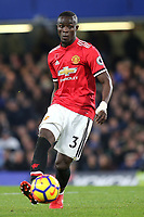 Eric Bailly of Manchester United during Chelsea vs Manchester United, Premier League Football at Stamford Bridge on 5th November 2017