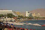 Israel, the northern beach in Eilat