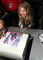 NEW YORK, NY - JULY 11, 2016 LiL Kim cuts her cake at her private birthday party at the Jue Lan Club July 11, 2016 in New York City. Photo Credit: Walik Goshorn / Mediapunch
