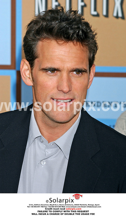 ALL-ROUND PICTURES FROM SOLARPIX.COM - 06.03.06.MUST CREDIT SOLARPIX.COM OR DOUBLE FEE INCURRED.**NO SYNDICATION IN FRANCE**.Matt Dillon arrives at the Independent Spirit Awards on the beach in Santa Monica, Ca.USA on March 4, 2006.  .REF:  2164 GLS