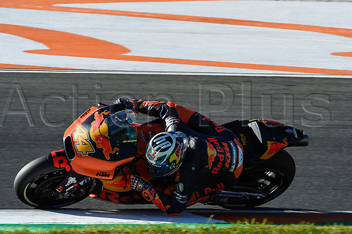 11th November 2017, Gran Premio Motul de la Comunitat Valenciana, Valencia, Spain; MotoGP of Valencia, Saturday qualifying; Pol Espargaro (RedBull KTM) during the qualifying sessions