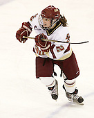 Kristina Brown (BC - 2) - The Boston College Eagles defeated the visiting Northeastern University Huskies 2-1 on Sunday, January 30, 2011, at Conte Forum in Chestnut Hill, Massachusetts.
