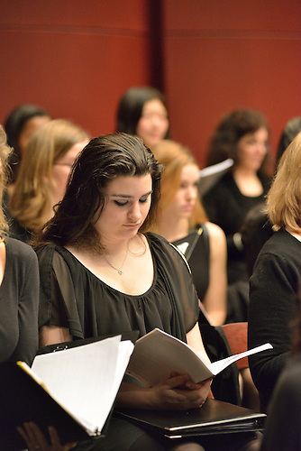 Scenes from the RCDS Festival Chorus at SUNY Purchase