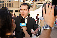August 29, 2007 file photo - Montreal , Quebec, CANADA - Steve Gallucio on the red carpet for Surviving my mother - Comment Survivre a sa mere