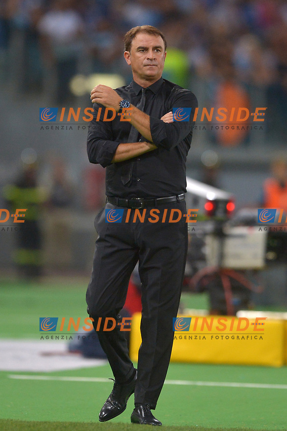 Leonardo Semplici, Spal coach.<br /> Roma 20-08-2017  Stadio Olimpico<br /> Campionato Serie A, <br /> Lazio - Spal<br /> Foto Antonietta Baldassarre / Insidefoto