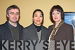 David Darcy, Jinyli Liu and Deloras Croke-Daly Killarney who enjoyed the wonderful music by the National Chorus Choir in Muckross House Killarney Friday evening   Copyright Kerry's Eye 2008