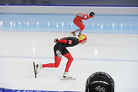 SPEEDSKATING: SOCHI: Adler Arena, 22-03-2013, Essent ISU World Championship Single Distances, Day 2, 5000m Men, Bart Swings (BEL), © Martin de Jong