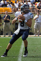 Maine quarterback Warren Smith.. The Pitt Panthers beat the Maine Black Bears 35-29 at Heinz Field, Pittsburgh, PA on September 10, 2011.