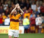 James McFadden enjoys his run out for Motherwell