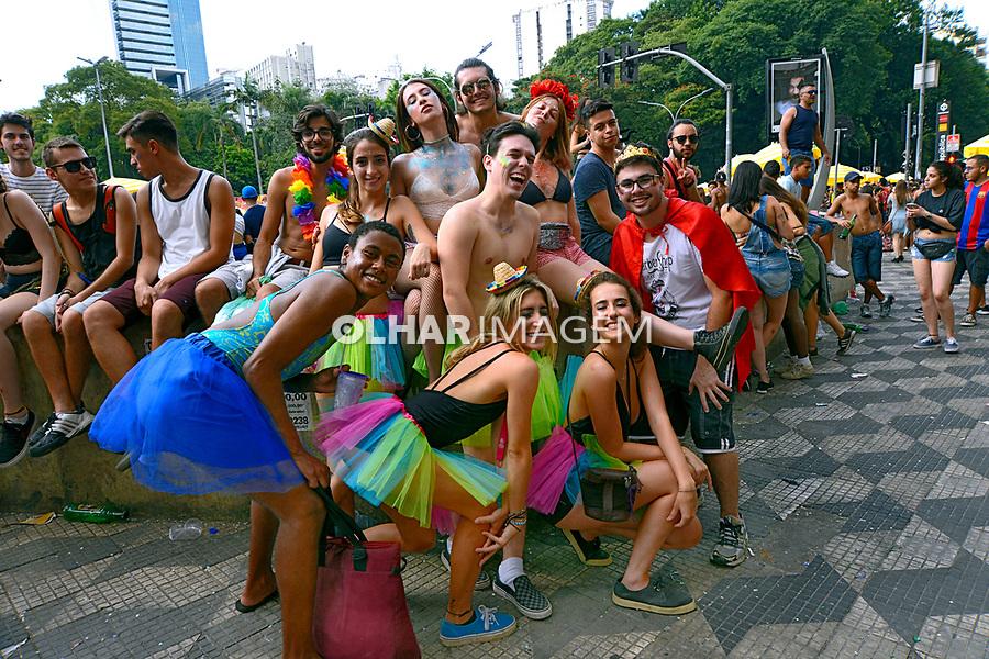 Carnaval de rua, Praça da Republica, São Paulo. 2018. © Juca Martins.